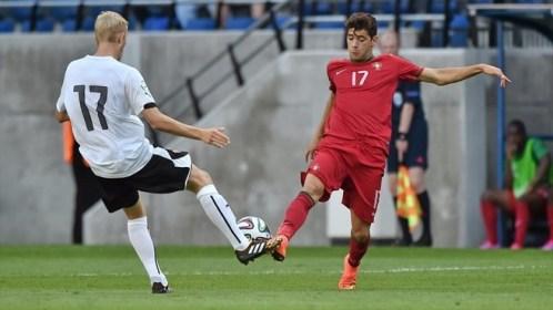 Ivo Rodrigues fue una de las figuras del partido para Portugal. Foto: it.uefa.com