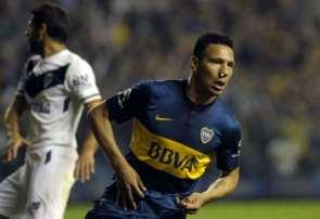 Chávez celebra un gol. (Foto:riojadeportes.com.ar)