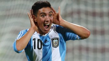 Suarez celebra un gol. (Foto: plazadeportiva)