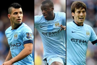Tridente Manchester City