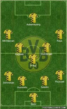 Así suele partir de inicio el nuevo BVB de Thomas Tuchel