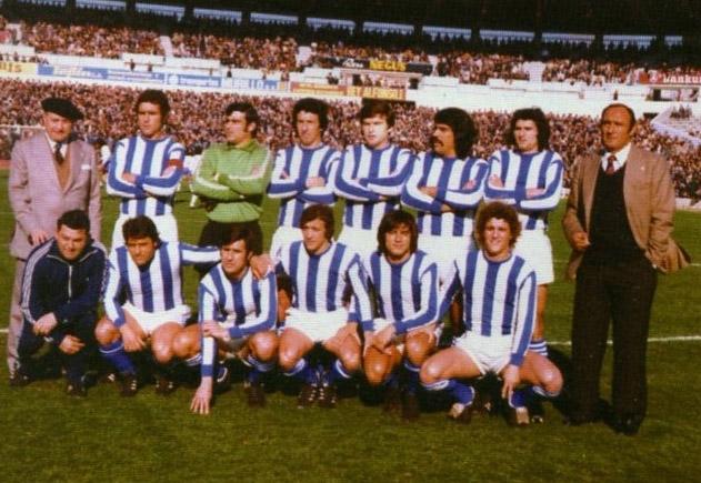 El Recreativo de Huelva que ascendió a Primera División en 1978