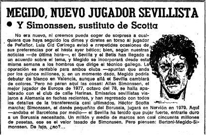 1978 Megido al Sevilla