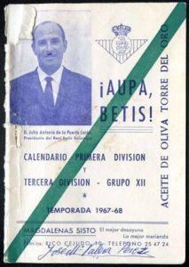 1967-1968 Calendario