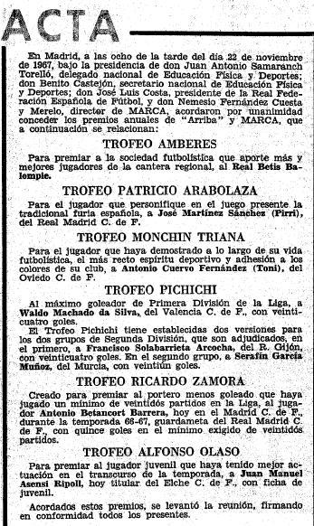 Fuente: Marca 23 de noviembre de 1967