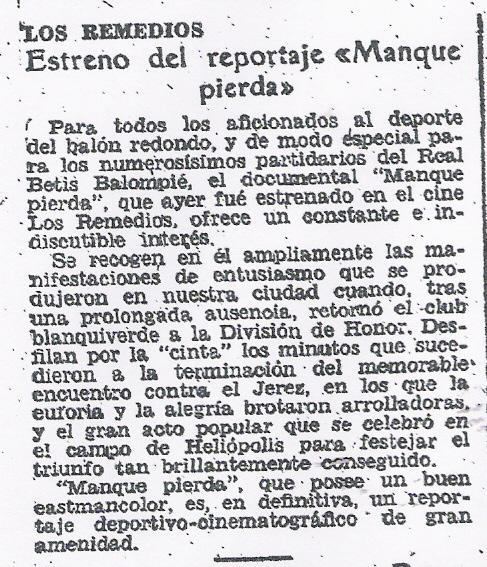 Fuente: ABC 25 de junio de 1958