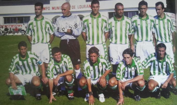Alineación Betis Amistoso 2000