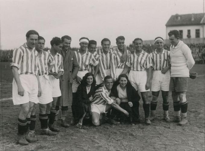 Alineación Oviedo-Betis Liga 1932