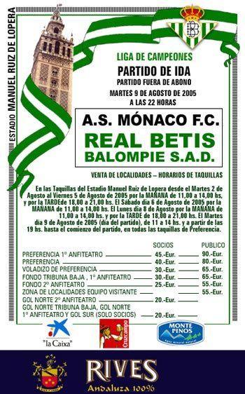 Betis-Monaco cartel