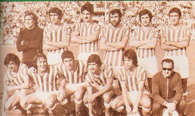 Julio-11 Alineación Betis-Gimnástico Liga 1974