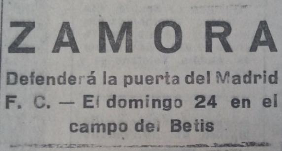 Fuente: El Liberal 22 de mayo de 1931