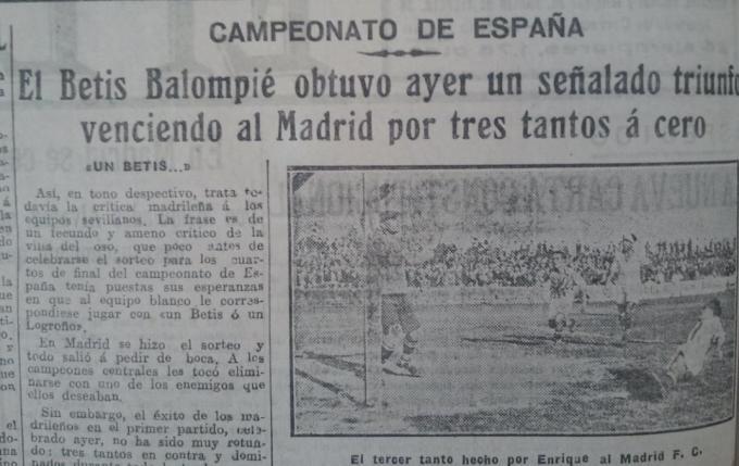 Fuente: El Liberal 26 de mayo de 1931