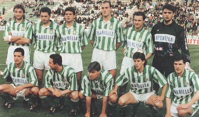 Alineación Betis-Sestao 1993