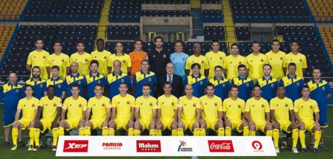 El Villarreal de la temporada 2011-12