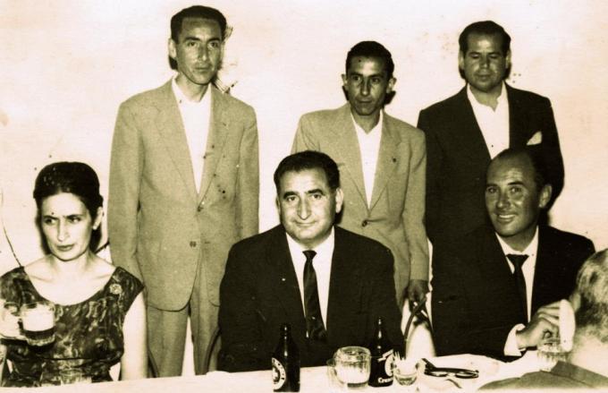 Inauguración Peña Bética de Osuna 1963-1