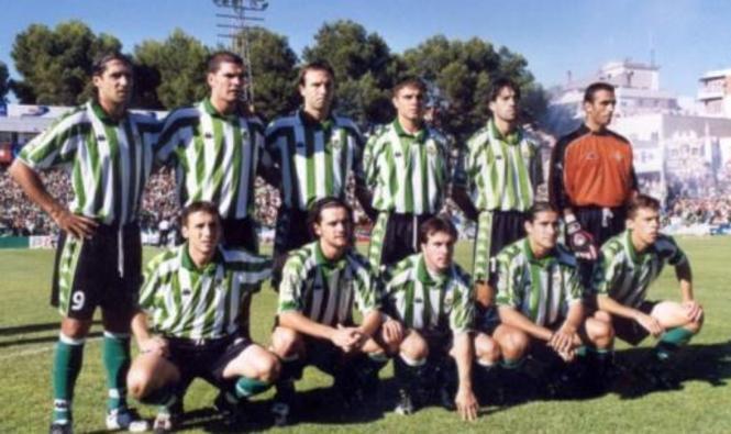 Enero-01 Alineación Jaén-Betis 2001