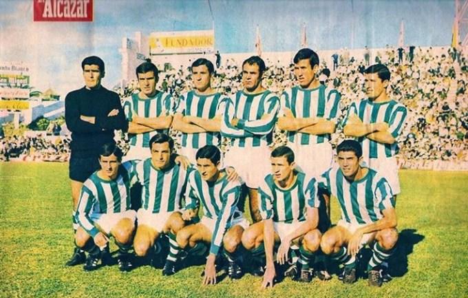 Alineación Betis-Elche Liga 1967