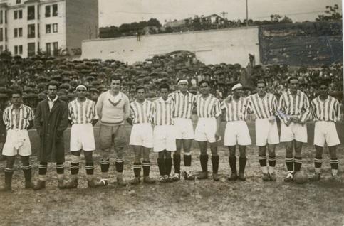 Enero-15 Alineación Athletic-Betis Copa 1931