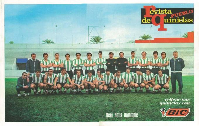 Marzo-5 Plantilla temporada 1971-72