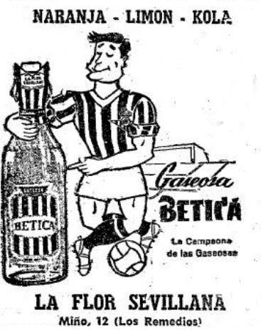 Anuncio Gaseosa Bética 1963 (NMP)