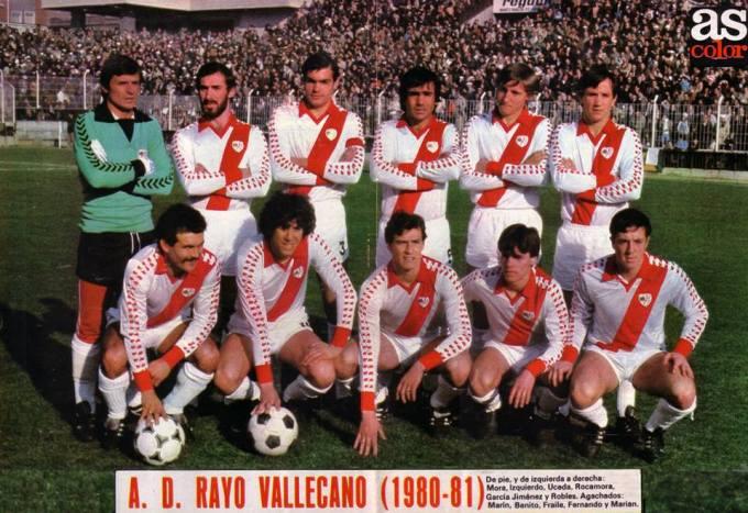 El Rayo Vallecano en la temporada 1980-81