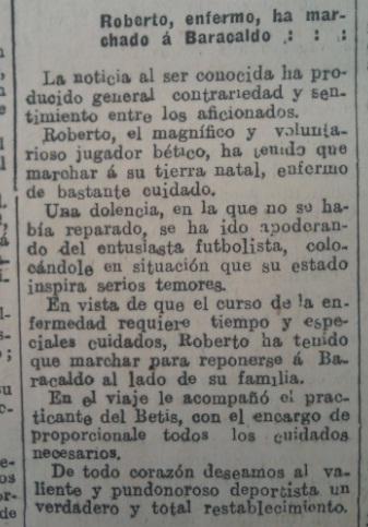 Fuente: El Liberal 17 de noviembre de 1933