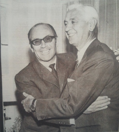 Fuente: AS 13 de noviembre de 1968. Julio de la Puerta con Fernando Daucick