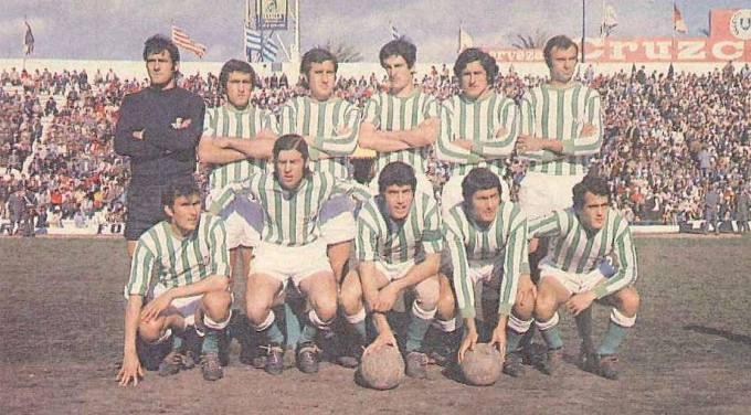 Junio-4 Alineación Betis-Granada Liga 1973