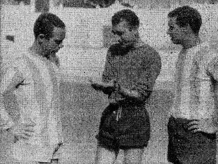 Martim Framcisco con León Lasa y Juan Santisteban