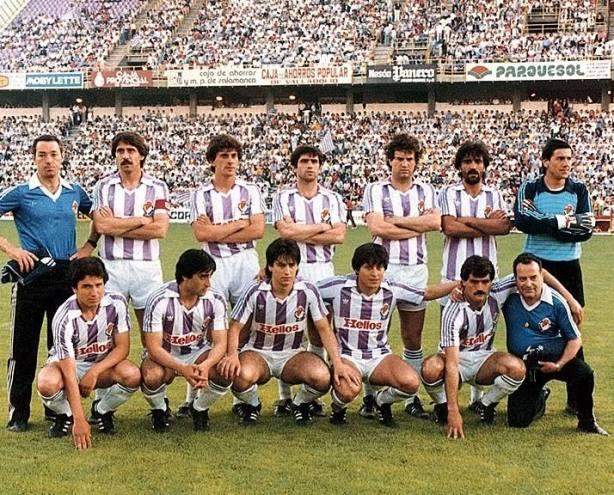El Valladolid en la temporada 1983-84