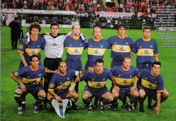 El CD Alavés en la final de la Uefa en 2001
