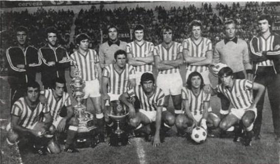 Alineación Betis-Haladas Amistoso 1977