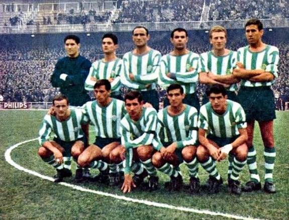 Alineación Madrid-Betis Liga 1966