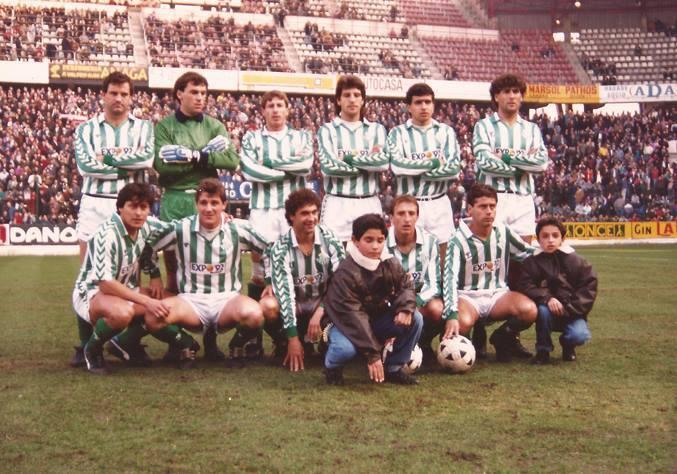 Sporting -Betis Liga 1989