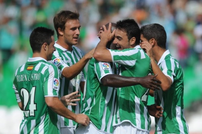 Betis-Ponferradina Liga 2010
