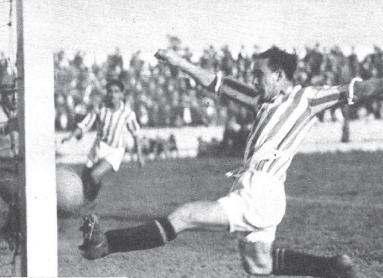 Hoy hace 85 años. La Liga que ganamos. Betis Balompié 2 Athletic Madrid 0.