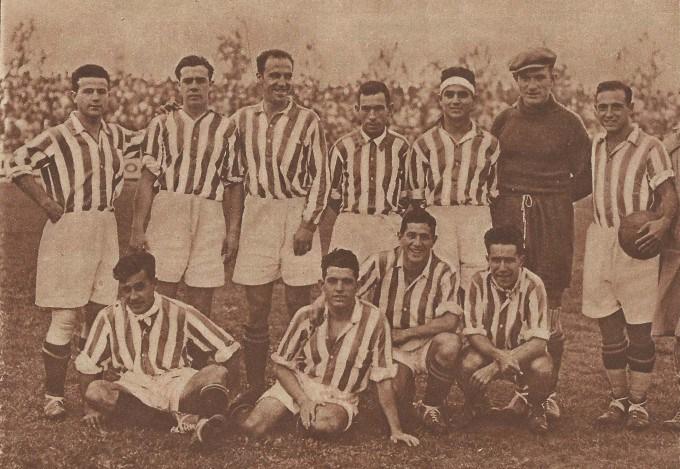Alineación Sevilla-Betis Regional 1929