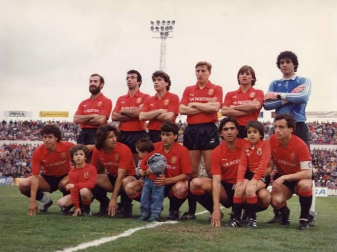El Mallorca en la temporada 1987-88