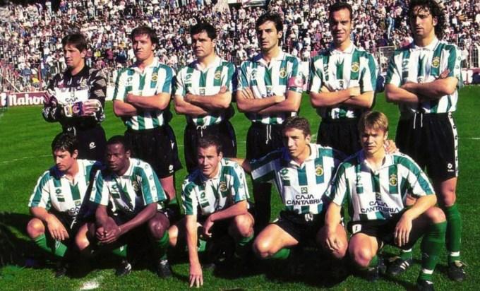 El Racing de Santander en la temporada 1995-96