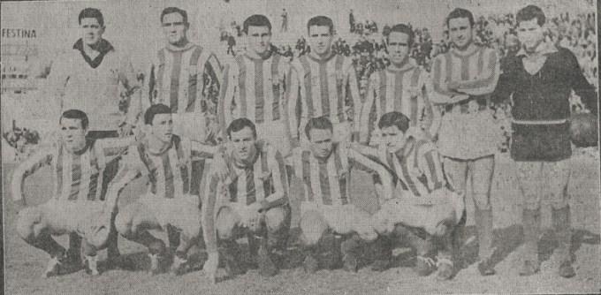Alineación Betis-Elche Liga 1961