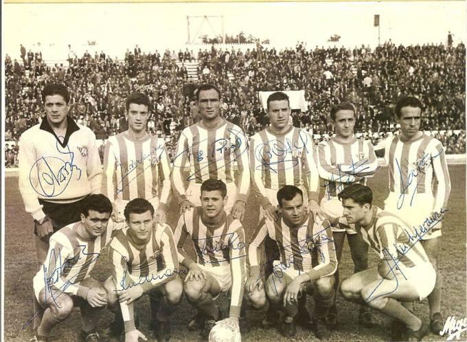 Alineación Betis-Real Sociedad 1960