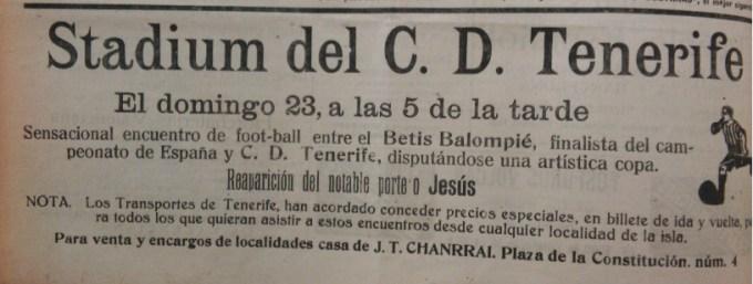 Fuente: La Tarde 22 de agosto de 1931