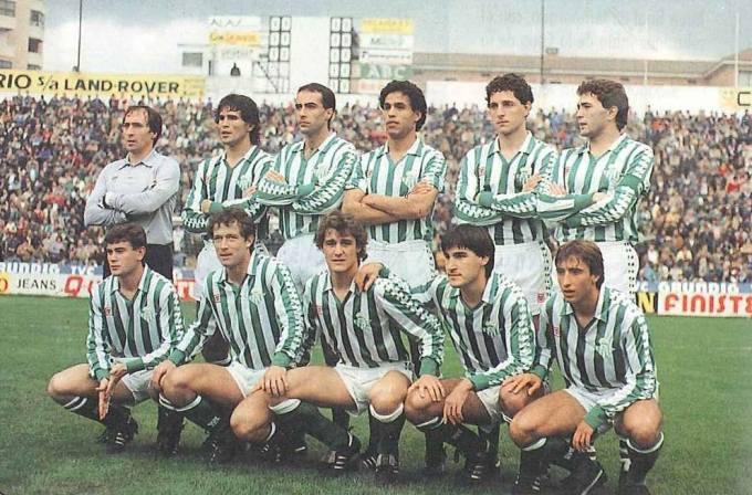 Alineación Betis-Español Liga 1984