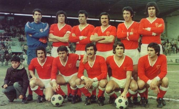 El Sevilla en la temporada 1974-75