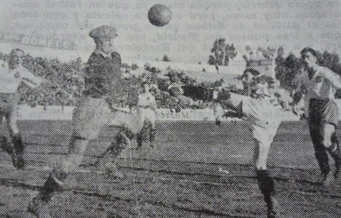 1945-02-19 Betis-Zaragoza Gol de Montalvo