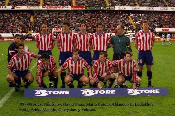 El Sporting de la temporada 1997-98
