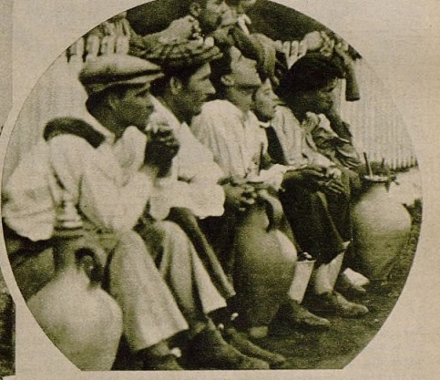 Aguadores en el Patronato 1932