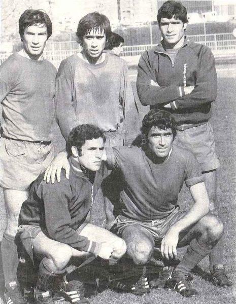 Cinco béticos en la selección 1977