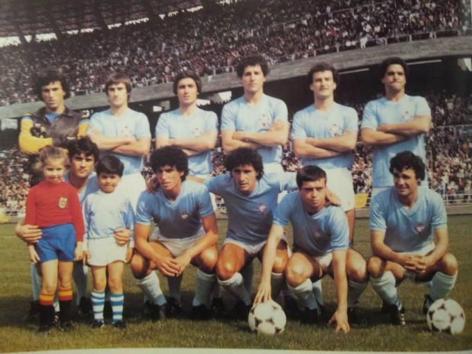 El Celta en la temporada 1981-82