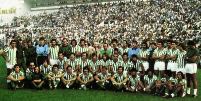 Presentación del Betis 1979